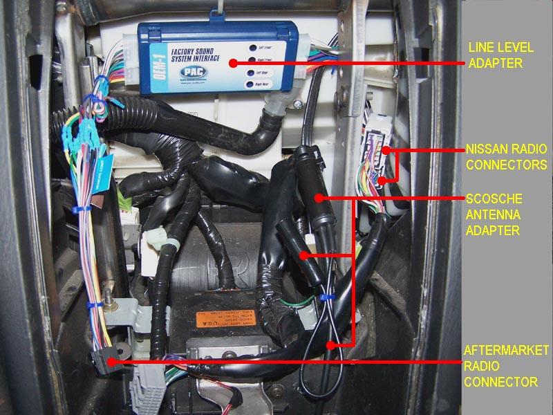 Nissan BOSE Amplifier | Workshop 12 on rca jack wiring, ethernet jack wiring, rj45 jack wiring, 3.5mm plug, 3 5mm 4 pin wiring, 3.5mm jack pinout,